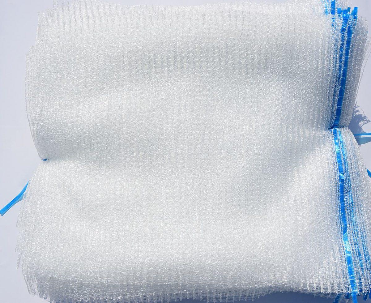 15 kg transparenter Sack
